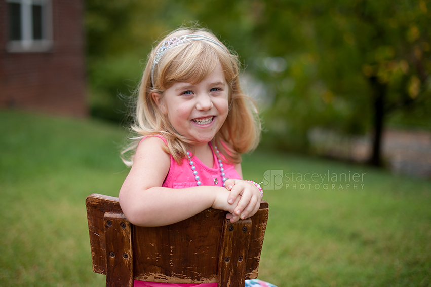 Natural Light Preschool Portraits – Stacey Lanier Photography