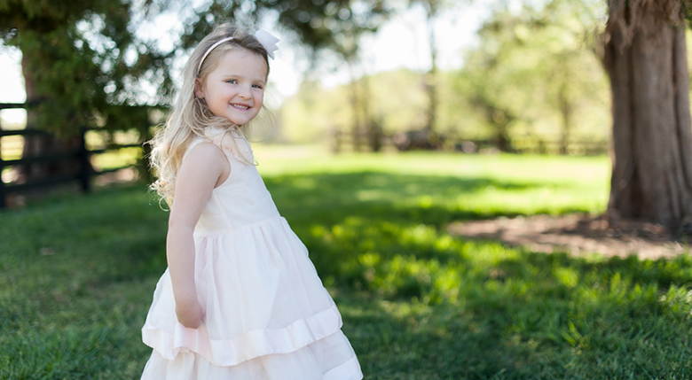 Picture Perfect – Relaxed Lake Norman Child Portraits